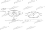 PBP1134 PATRON Колодки тормозные дисковые