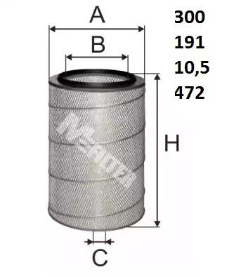 A152 M-FILTER Воздушный фильтр