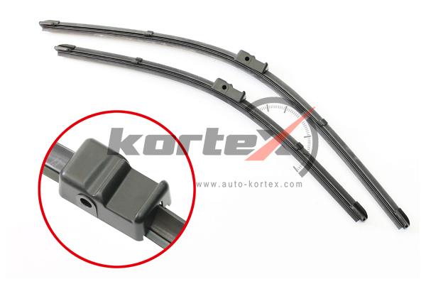 KP115 KORTEX Щетка стеклоочистителя OPEL ASTRA H 04- (550/450) к-т.