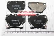 DBP1395 DYNAMATRIX-KOREA комплект колодок для дисковых тормозов