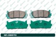 GP02270 GBRAKE Колодки тормозные дисковые
