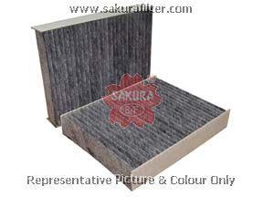 CAC22020 SAKURA Фильтр салона угольный комплект