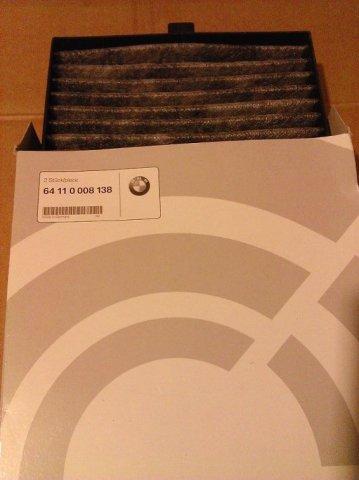 64110008138 BMW Микрофильтр/фильтр с активирован.углем