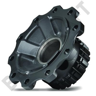 BK6100360 BERGKRAFT Ступица колеса без подшипника, для противоблокировочного устройства, передний мост, VOLVO FH, FM, FM9, FM12, FH12, FH16, RVI Premium, Magnum D=383,5mm