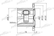 PCV1423 PATRON ШРУС