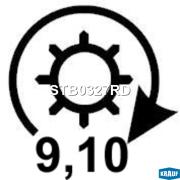 STB0327RD KRAUF Стартер