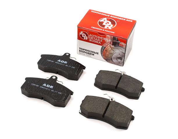 Колодки тормозные ваз-2108 - 21099, 2115 передние к-т ADR ADR010211