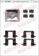 1091841 OJD (QUICK BRAKE) Комплектующие, колодки дискового тормоза