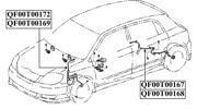 QF00T00167 QUATTRO FRENI ИМПУЛЬСНЫЙ ДАТЧИК ABS