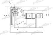 PCV1505 PATRON ШРУС
