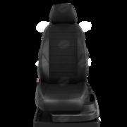 MZ160102EC01 АВТОЛИДЕР Авточехлы для Mazda 3 с 2003-2010г. седан, хэтчбек Задняя спинка 40 на 60, сиденье единое. Задний подлокотник (молния), 5+2-подголовников