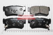 DBP1937 DYNAMATRIX-KOREA комплект колодок для дисковых тормозов