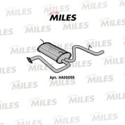 HA00055 MILES Глушитель DAEWOO MATIZ 0.8/1.0 00