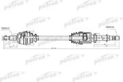 PDS4994 PATRON Полуось