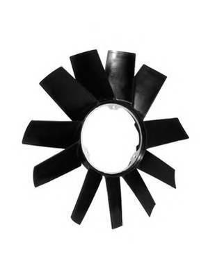 500900755 TOPRAN Крыльчатка вентилятора