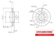DBD1610 DYNAMATRIX-KOREA диск тормозной