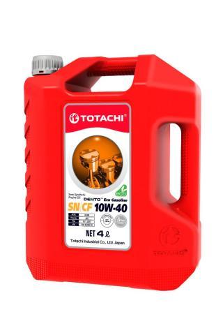 4589904528606 TOTACHI Масло моторное TOTACHI Eco Gasoline 10W-40 Полусинтетика 10W-40 4 л.