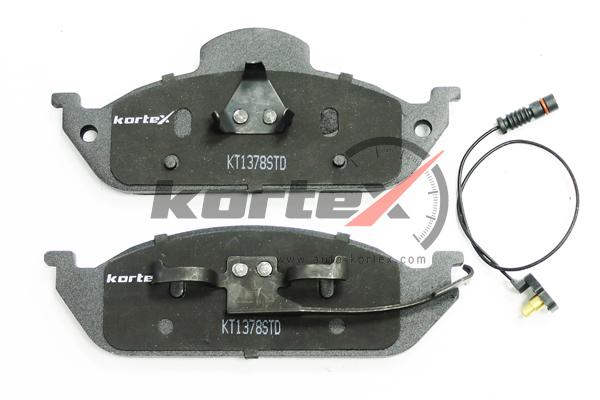 KT1378STD KORTEX Колодки тормозные передние