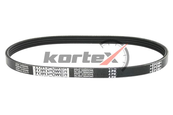 KDB009 KORTEX Ремень приводной 4PK940 (DONGIL)