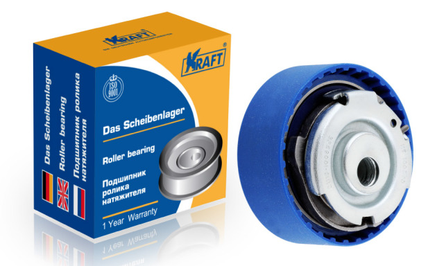 Ролик грм ваз-2190 натяжной (натяжитель автоматический) KRAFT KT100540