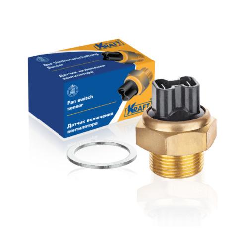 Датчик вкл. вентилятора газ-3102-3110, м-2141 (87'-82') тм-108-02 KRAFT KT104802
