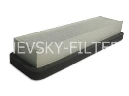 NF6010 NEVSKY FILTER Фильтр салонный Невский фильтр NF-6010 GAZ GazelleSobol 2217,2310,2705,2752