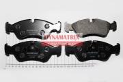 DBP584 DYNAMATRIX-KOREA комплект колодок для дисковых тормозов
