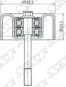 ST11925JA11A SAT Обводной ролик приводного ремня NISSAN TEANA/MURANO 08-