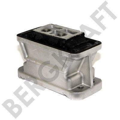 BK28631021SP BERGKRAFT Опора двигателя M16x1.5mm/M12x1.5mm (EPDM) MB BUS O345/O405/O408
