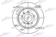 PBD2557 PATRON Диск тормозной