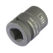 13924 STELS Головка ударная шестигранная, 19 мм, 1/2, CrMo Stels