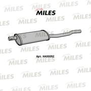 HA00052 MILES Глушитель DAEWOO NEXIA 1.5-1.8 95-99