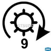STB0737 KRAUF Стартер