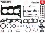 77BG019 MASTERKIT Полный комплект прокладок ДВС Toyota AYGO,YARIS 1.0 VVT-I 1KR-FE 05