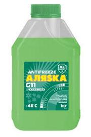 Антифриз Аляска Long Life зеленый 1кг 5085 АЛЯСКА 5085