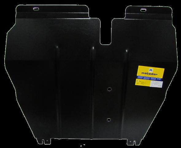 Защита стальная 2 мм д, кпп MOTODOR 01308
