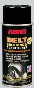 BD100 ABRO Смазка для приводных ремней ABRO (170 г) (аэрозоль) (антискрип)