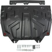 Защита картера и КПП Автоброня, увеличенная, Mazda 6 V - 2.0;, 2012-2015/2015-..., крепеж в комплекте, сталь (Аналог 111.03818.1) АВТОБРОНЯ 111038171