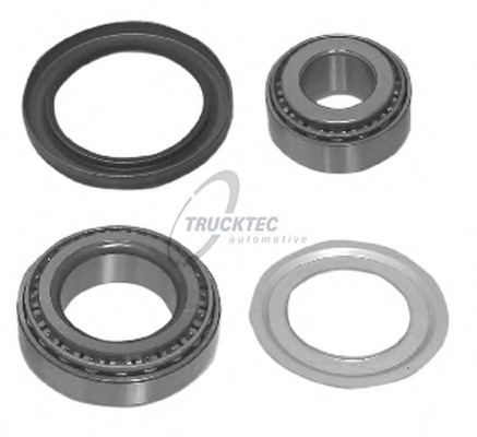 0231112 TRUCKTEC Комплект подшипника ступицы колеса