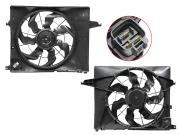 STHN67201A0 SAT Диффузор радиатора в сборе HYUNDAI SANTA FE 2,4 12