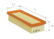 AF1602 ALPHA FILTER AF1602 Элемент возд.фильтра Альфа (C24401 NF5053 FIAT LANCIA)