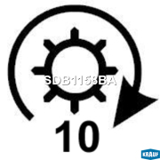 SDB1158BA KRAUF Бендикс стартера