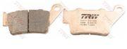 MCB672SH TRW/LUCAS Комплект тормозных колодок, дисковый тормоз