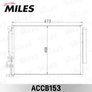ACCB153 MILES Радиатор кондиционера (конденсор)