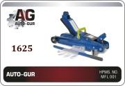 1625 AUTO-GUR Домкрат гидравлический подкатной 2,5т h=85-381мм  низкопроф
