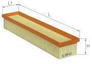 AF1689 ALPHA FILTER Воздушный фильтр