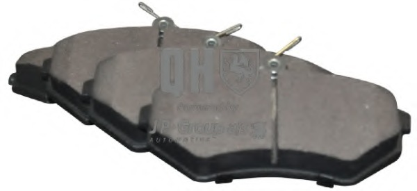 1163602019 JP GROUP Комплект тормозных колодок