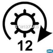STM1273AB KRAUF Стартер