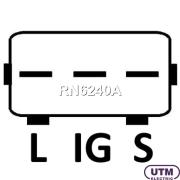 RN6240A UTM Регулятор генератора