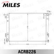 ACRB226 MILES Радиатор, охлаждение двигателя